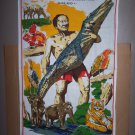 thailand crocodile farm wall hanging tapestry