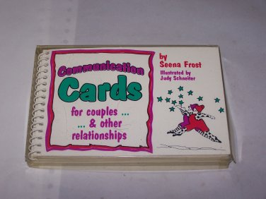 communication cards by seena frost  ilustrated by judy schneiter