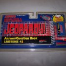 jeopardy game cart 5 quiz wiz nib 1993