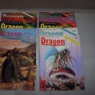 dragon magazines d&d back issues lot 150 - 159 1989 1990 with inserts