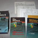 flight simulator 2 instruction manuals commodore 64
