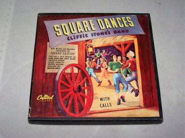 cliffie stone square dance records capitol cdf 4006