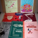 piano music book lot walt disney holiday music 1947 and later