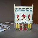 bijou christmas house dicken's keepsake o'well novelty house 1995