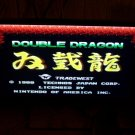 double dragon nes game cart tradewest
