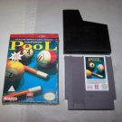 championship pool nes game 1993 mindscape with box