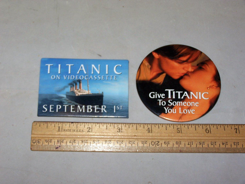 titanic button lot