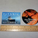titanic button lot
