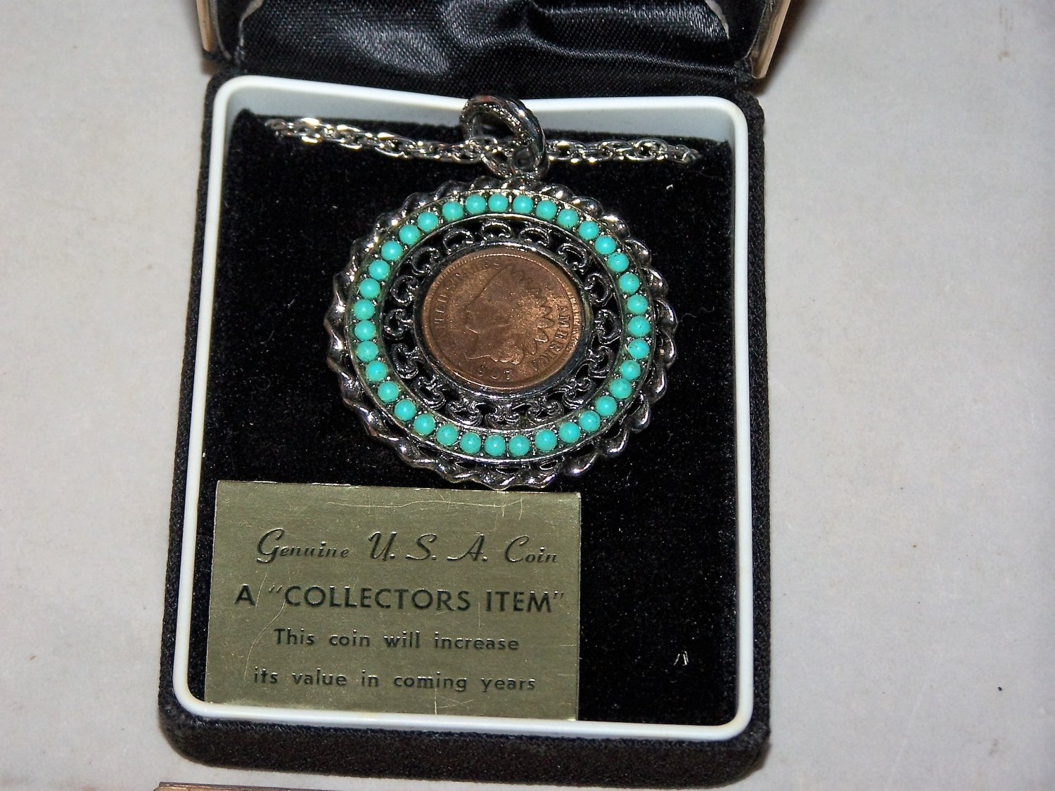 indian head penny 1907 necklace royal gems necklace
