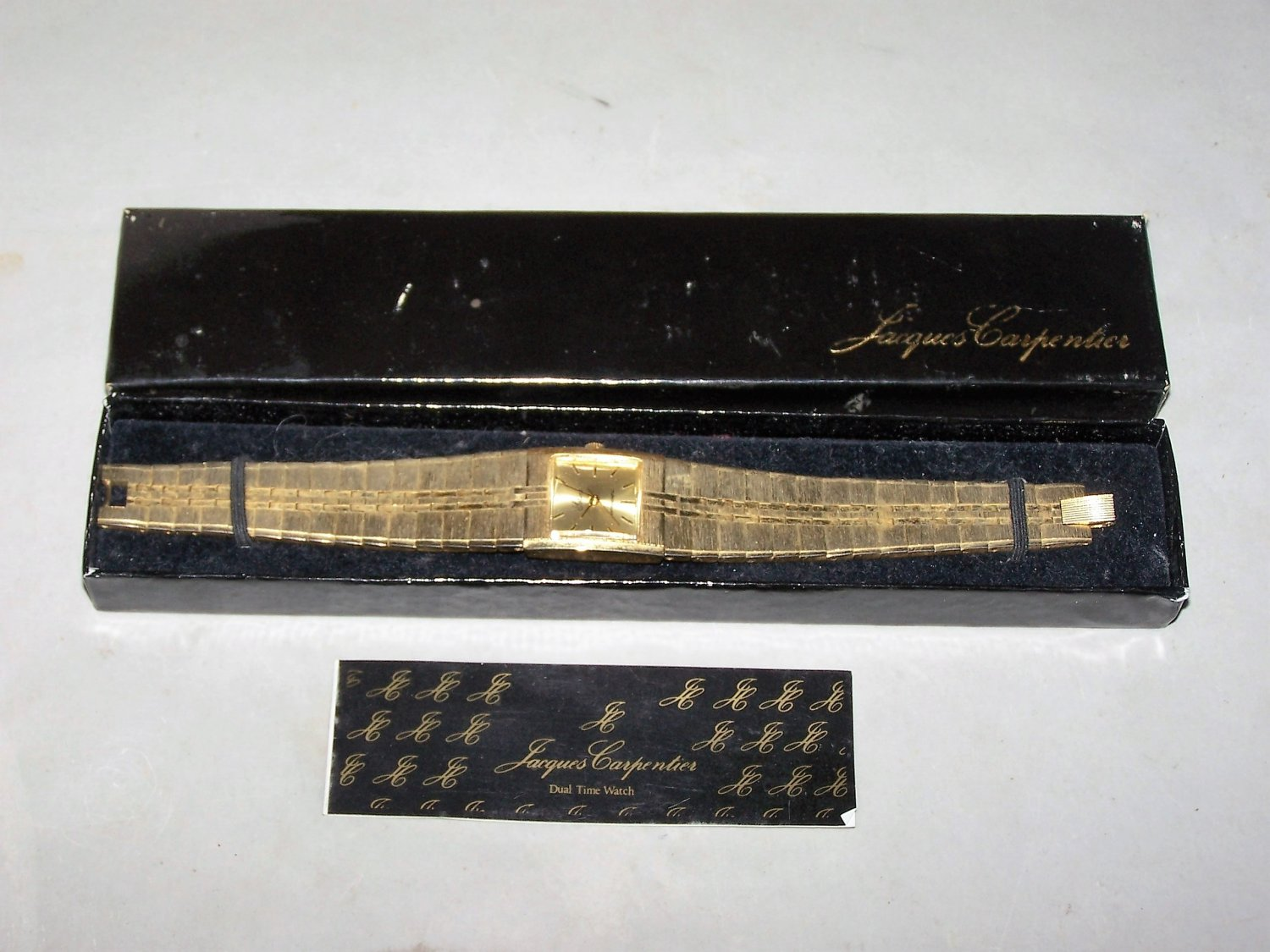 jacques carpenter lolina antimagnetic watch