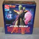 xizor star wars shadows of the empire model kit ertl 1997