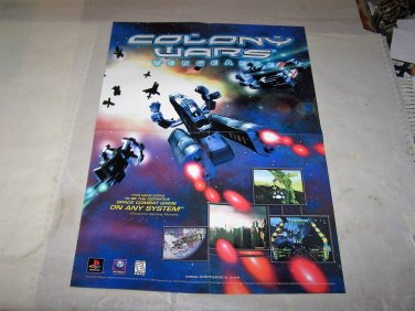 colony wars vengeance poster video game poster