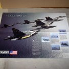 ace combat 04 amped 2 sided poster