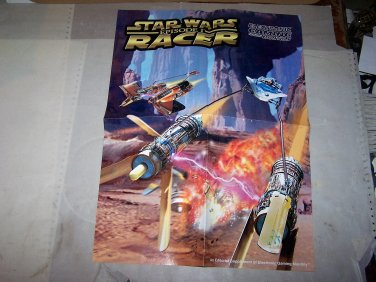 pod racer star wars ep 1 poster egm 2 sided poster