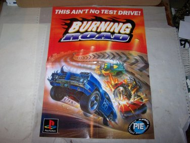 burnings road poster 2 sided 1996 poster