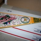 a's world series 1989 pennant