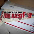 portland trail blazers 1990 pennant
