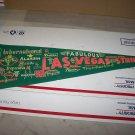las vegas strip vintage pennant