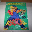 rascal poster 1998 video game poster