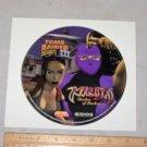 Ninja shadow of darkness tomb raider 3 1998 eidos playstation lid sticker on card