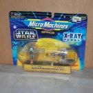 slave 1 and y wing star wars micro machine xray fleet series iv nip 1995 galoob