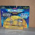 x wing at at xray fleet star wars micro machines col 2 nip 1996 galoob