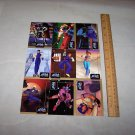 street fighter trading cards uncut sheet 1997 capcom cards