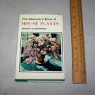 observer's book of house plants 1972 hc with jacket stanley whitehead