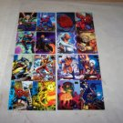 marvel flair promo cards lot of 4 cards 94 inaugural 95 card lot