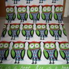 mu kitchen tapestry wall hanging owls lifes a hoot