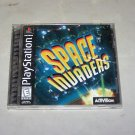 space invaders ps1 game 1999 Activision
