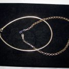 coro gold tone necklaces lot of 2