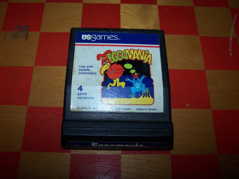 eggomania atari game cart 1982 us games