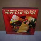 worlds greatest popular music 10 record set 1963 columbia recs.