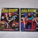 flash gordon vol 1 vol 2 chapters 1-12 dvd set nib 2002 buser crabbe