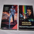 michael jackson moonwalker and greatest hits history video vhs