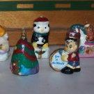 novelty wax candle christmas figures