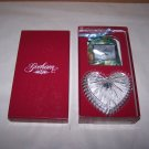 gorham lead crystal trinket box heart shaped