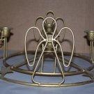 angel candelabra metal 5 stick holder
