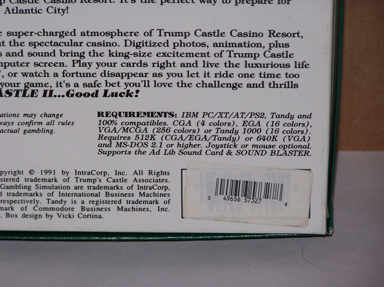 trump castle 2 imb pc game 1991