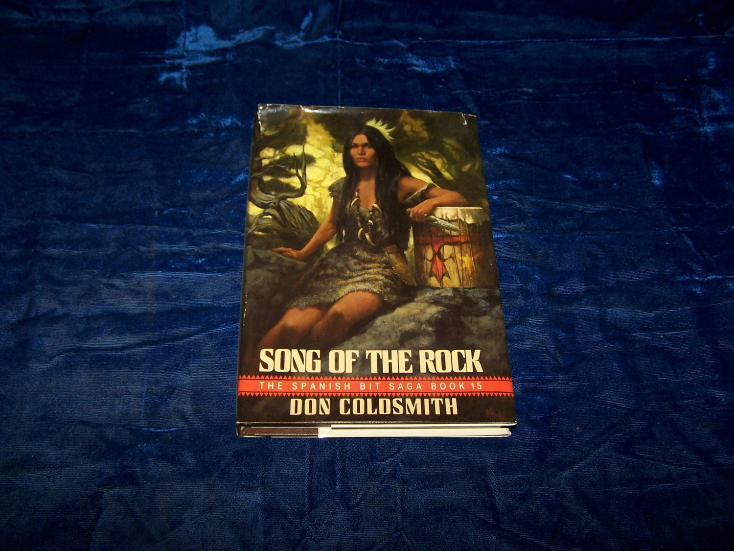 song of the rock hc book Don Coldsmith 1989 first edition