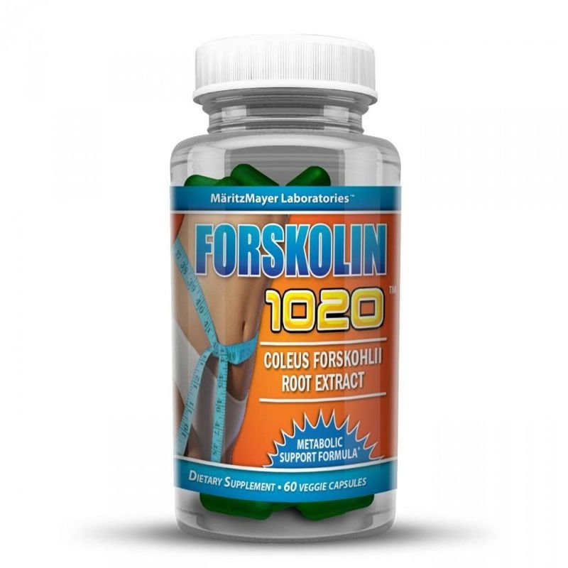 FORSKOLIN EXTRACT 100% PURE COLEUS FORSKOHLII 250mg 20% STANDARDIZED Weight Loss