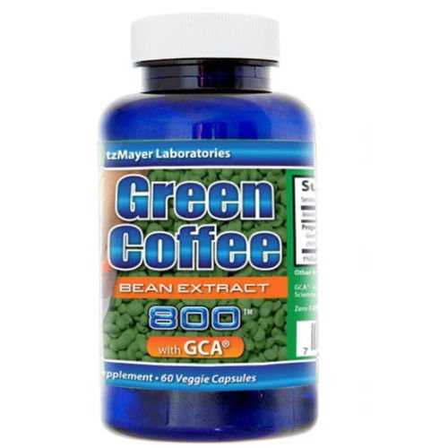 GREEN COFFEE BEAN EXTRACT-DOCTOR RECOMMENDED Weight Loss-60Caps