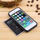 Oyster/Credit Card Holder Pocket ShockProof Case Cover For iPhone 5/5S 6 Plus HC