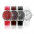 NEW Fashion Classic Design Quartz Ladies Fashion Wrist Watch Women Leather HC