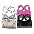 Women Padded Bra Racerback Top Athletic Vest Gym Fitness Sports Yoga Stretch  hc