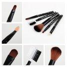 5 PCS Set Cosmetic Makeup Brush Foundation  Comb New HC