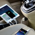 4-Port USB Car Charger Power Adapter For iPhone 5 6 Samsung S5 Note 4 3 2 HC