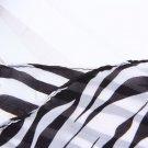 Fashion Trendy Long Zebra Printed Chiffon Scarf Women Girls shawl Soft Smooth HC