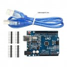 NEW ATmega328P CH340G UNO R3 Board & USB Cable +7 Gilded Pin for Arduino DIY HC